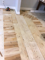 Hardwood and stairs installers