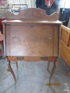 Vintage Writing Desk with Drawer