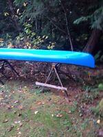 15ft fibreglass canoe