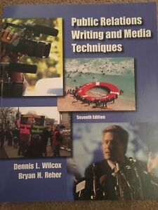 Public Relations Writing and Media Techniques 7th Edition.  Cambridge Kitchener Area image 1