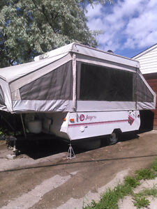 Jayco eagle series tent trailer