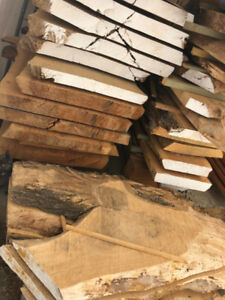 Case Lot Live Edge Slabs - Wood