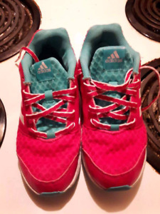 Girls size 3 Adidas sneakers