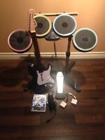Rock band 2 set for wii