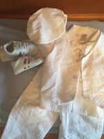 Baby Boy Christening suit- size 12-18 mths