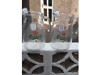 2 large glass jugs (5pints)