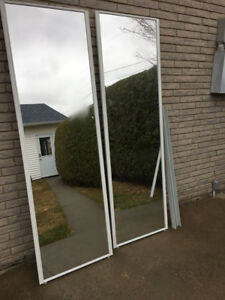Portes coulissantes miroir