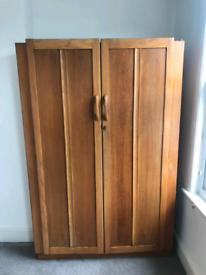 Double Wardrobe Solid Wood