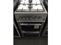 New Graded Flavel 50cm Gas Cooker - Silver