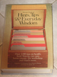 INVALUABLE BOOK.....HANDBOOK of HOUSEHOLD HINTS & TIPS