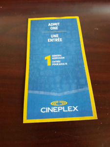 Cineplex ticket