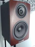 Magnifiques boites de son M-Audio amplifiées à vendre