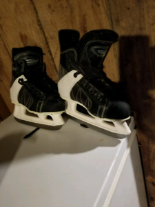 2 pair of boys CCM skates