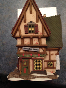 DEPARTMENT 56 - DICKENS - THE MELANCHOLY TAVERN  #58347  - H86