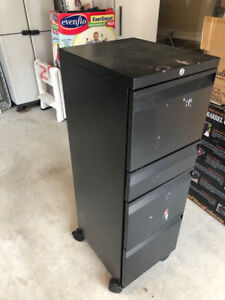 Filing cabinet safe 4 drawers with wheels