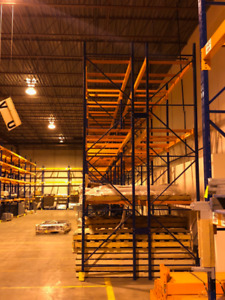 Warehouse Pallet Racking for Sale | Best price in Canada