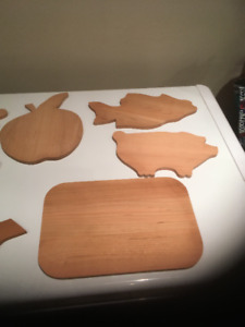 Designer Cutting Board  Cherry and Maple
