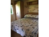 Spacious caravan on one of the most private pitches on the park