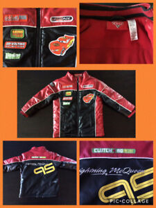 """Cars"" Fleece Lined Jacket, Extremely Warm!  Size 3x"