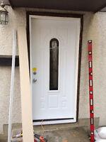DOOR SERVICE, Exterior door installs, Door REPAIR and door INSTA