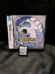 Pokemon Soul Silver game for DS