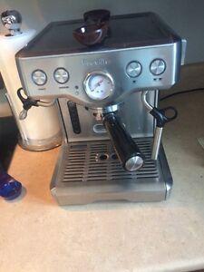 Breville machine à expresso