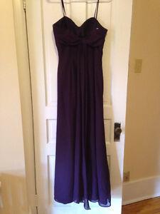 Purple Bridesmaid Gown (Long) Belleville Belleville Area image 2