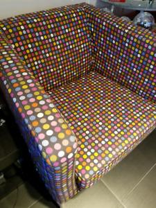 Disco Dot Accent Chair