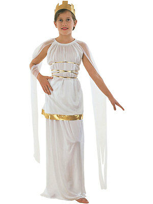 Greece Goddess Costume (Greek Goddess Athena Ancient Greece Helena Girls Costume Fancy Dress)