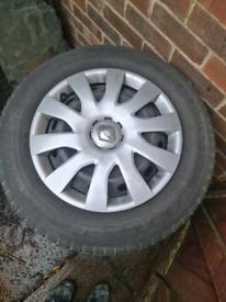 Renault trafic/ vivaro wheels and tyres