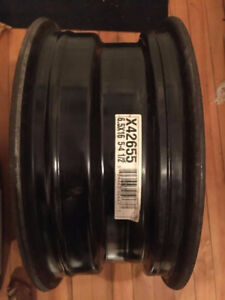 4 Winter Rims w/out Tires 16.5 * 6.5, 5-bolt pattern