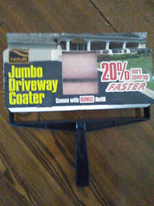 Driveway Roller/Coater