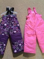 New never worn snowpants!  Size 3t
