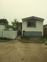 2 bed 2 bath mobile home for rent
