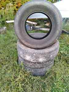 Tires for sale  Came off 2014 GMC Sierra Kingston Kingston Area image 1