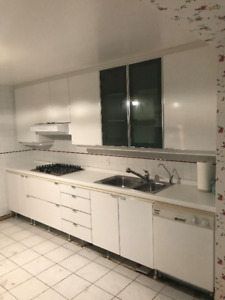 White Kitchen For Sale $3,000.00 (3 years old) PRICE FIRM