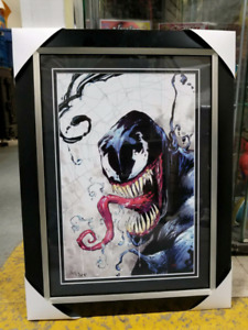 Rare Autographed Framed Prints - 1/10 Signed By Rob White