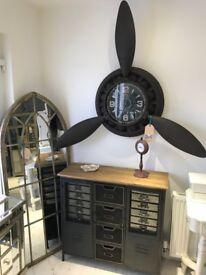 Industrial Propeller Clock (new)