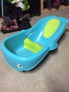 Bain baleine pour bébé