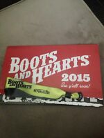 Boots and hearts ticket 2015!