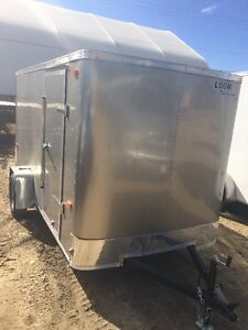 2017 Look 6x12 ST Enclosed Trailer Barn Doors