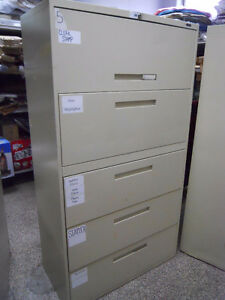 5 Drawers Office Metal File Cabinet