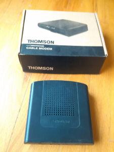 Thomson Cable Modem DCM476 forTeksavvy Acanac EBox Carrytel etc.