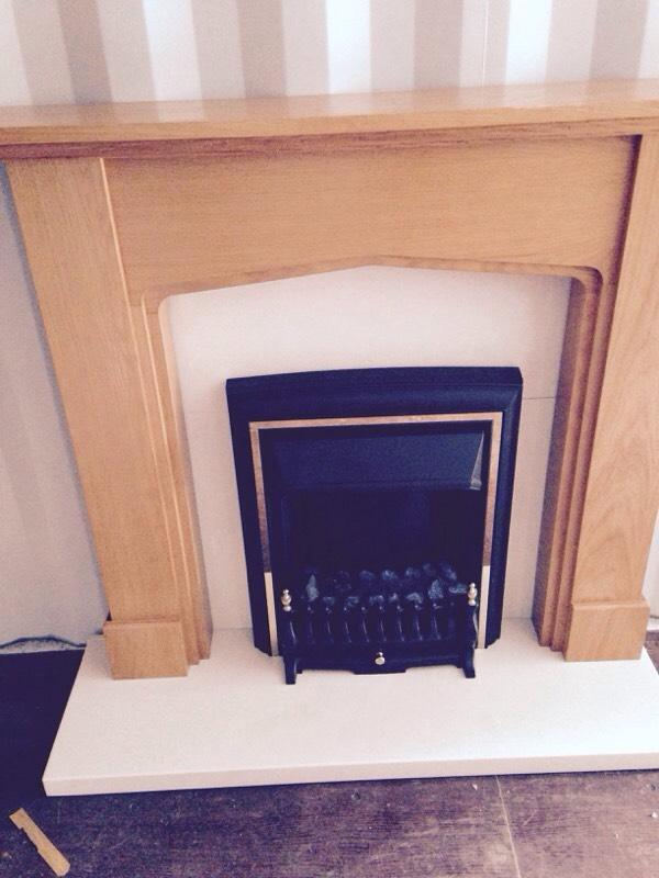 Electric Fire And Surround In Thorpe Hesley South
