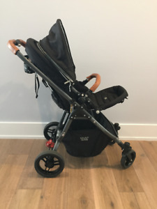 VALCO BABY WITH BRITAX CAR SEAT