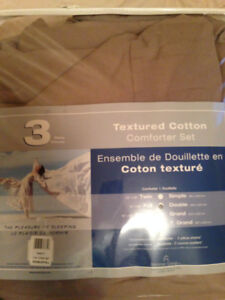 Double comforter set