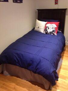 Bed set / ensemble de lit