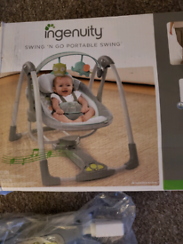 Baby bouncer rocker new boxed luxury version