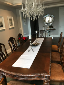 ashley dining table with 6 chairs dining tables sets oakville