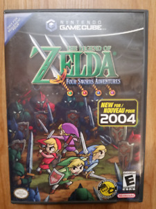 Zelda four swords adventures gamecube